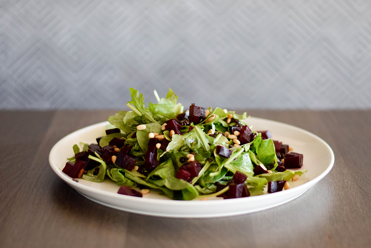 Le French - Beets and Lentils