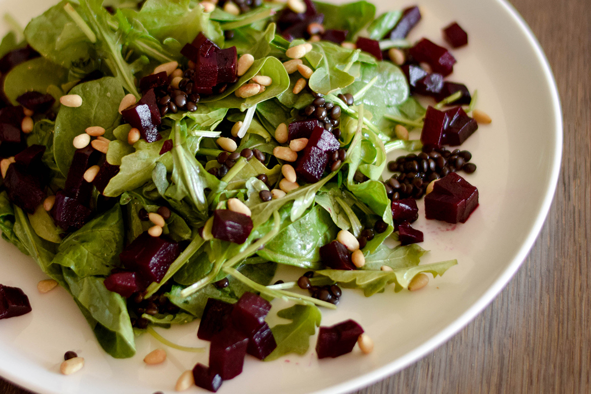 Le French - Beets and Lentils - 2