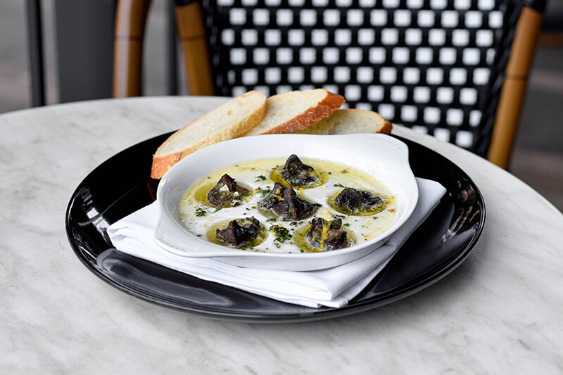 Le French - Menu - Lunch and Dinner - Escargot