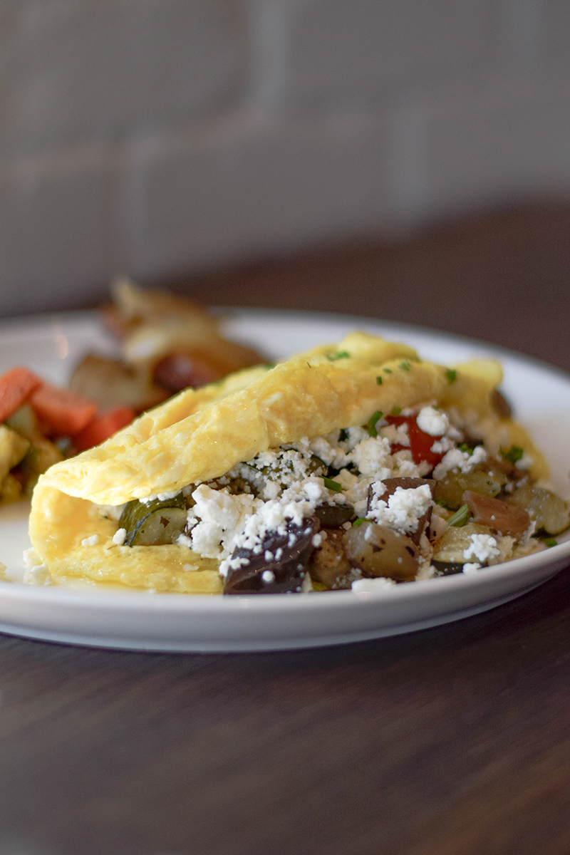 Le French - Menu - Ratatouille Omelet